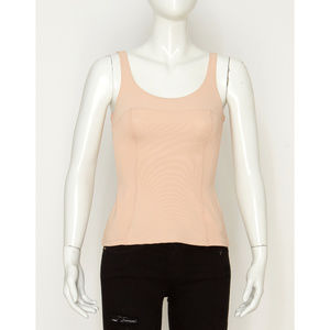 NWT Form Fitting Nude Panelled H&M Top